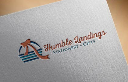 DesignDevil007 tarafından Logo Design for Humble Landings Stationery + Gifts için no 32