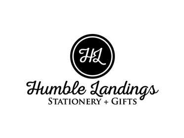 DesignDevil007 tarafından Logo Design for Humble Landings Stationery + Gifts için no 54