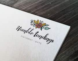 LadyLaszarus tarafından Logo Design for Humble Landings Stationery + Gifts için no 52