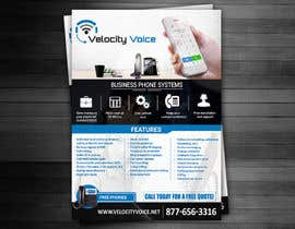 #11 for Design a Digital Flyer for Business Phone Service Provider - Velocity Voice by adidoank123