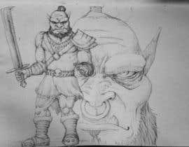 Nro 20 kilpailuun Monster Concept Art käyttäjältä erichshigue