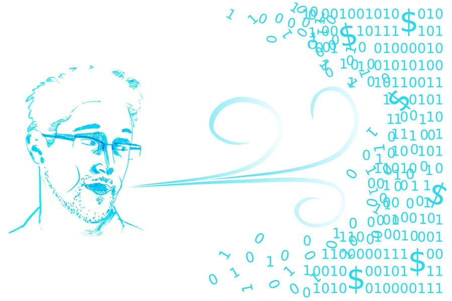 Bài tham dự cuộc thi #16 cho Illustrate Something for Article  Cloud Market: the Impact of Edward Snowden's Revelations