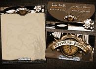 Graphic Design Kilpailutyö #68 kilpailuun Business Card Design for Treasure Island Resort Wear & Gifts