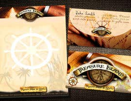 #74 for Business Card Design for Treasure Island Resort Wear & Gifts by chiinii