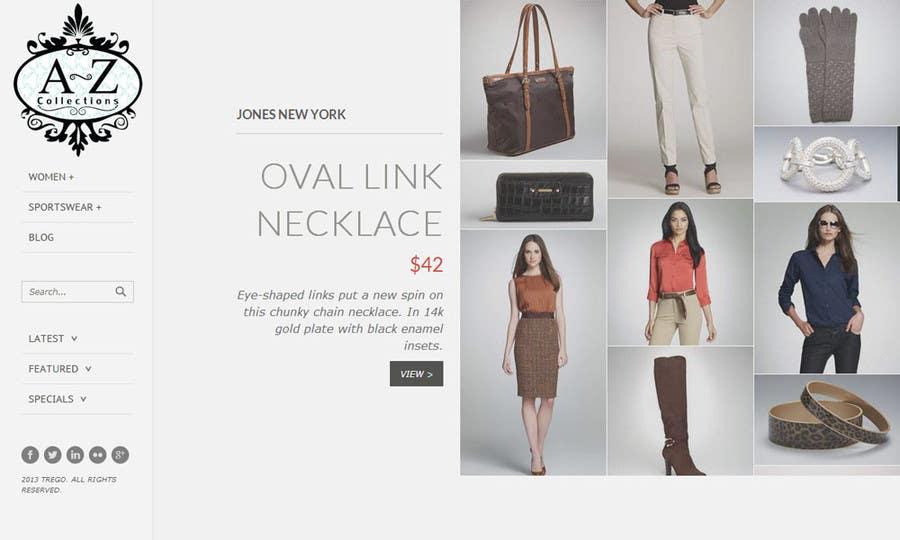 Bài tham dự cuộc thi #31 cho Build a Website for Fashion Label