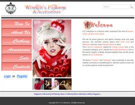 #37 for Build a Website for Fashion Label by armanchik