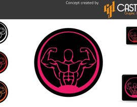 nº 33 pour Design a Logo for fitness website par CasteloGD