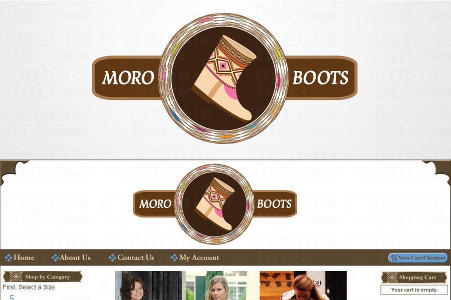 Konkurrenceindlæg #                                        11                                      for                                         Make our LOGO Great! MoroBoots.com