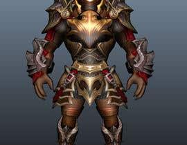Nro 20 kilpailuun 3D character modeling, cute animal warrior character käyttäjältä myonjinsol