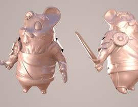 Nro 24 kilpailuun 3D character modeling, cute animal warrior character käyttäjältä ahmadalasl