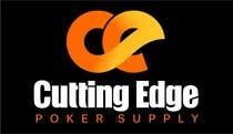 "Bài tham dự #3 về Graphic Design cho cuộc thi Design a Logo for ""Cutting Edge Poker Supply"""