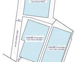 Nro 2 kilpailuun Residential Site Plan käyttäjältä jimdsouza1