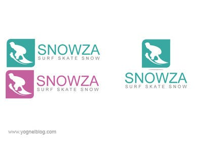 "Graphic Design Contest Entry #43 for Design a Logo for Online Business ""Snowza"""