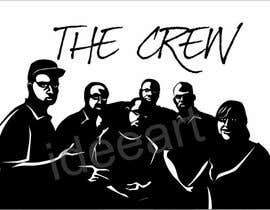 nº 14 pour Silhouette of the Crew par ideeart