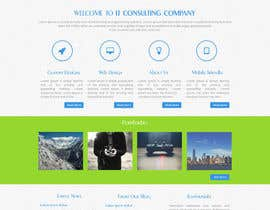 #15 para Design a Website Mockup for I.T. Consulting/Development company por asad12204