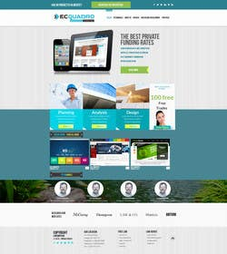 #11 untuk Design a Website Mockup for I.T. Consulting/Development company oleh logodesire
