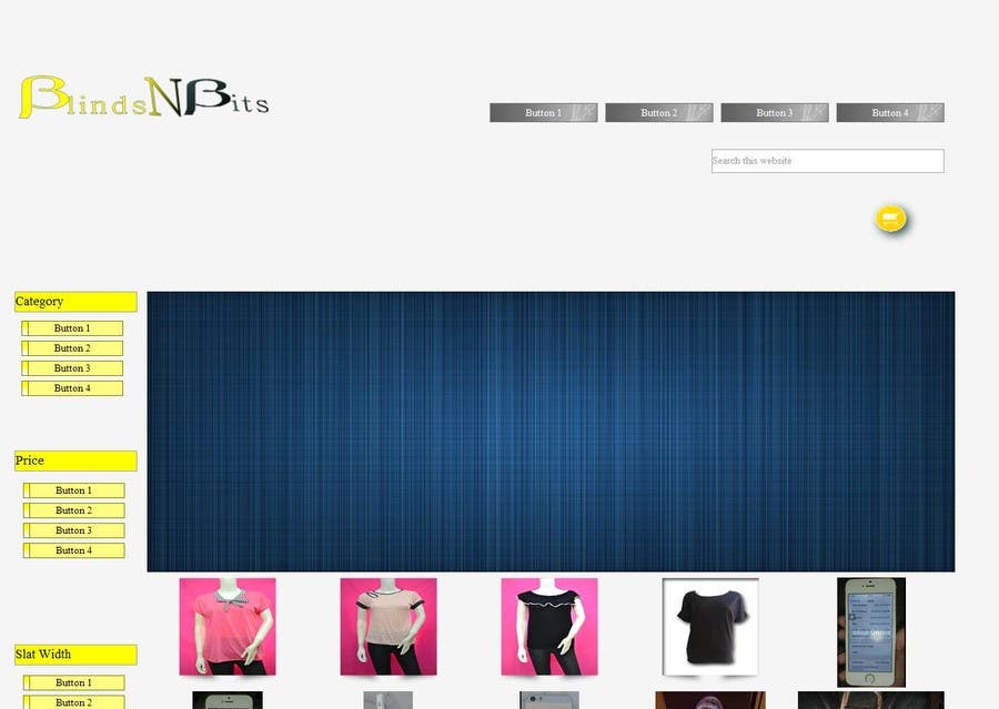 #9 for eCommerce website design and logo by melquidez