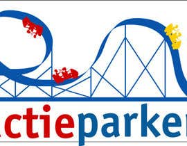 #69 for Create a logo containing a Rollercoaster for a Amusement Parc website by obrejaiulian