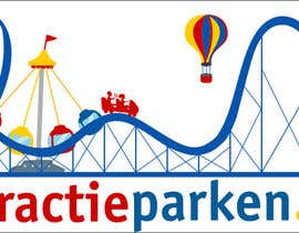 #72 for Create a logo containing a Rollercoaster for a Amusement Parc website by obrejaiulian