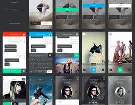 hitesh124 tarafından Design an App Mockup için no 5