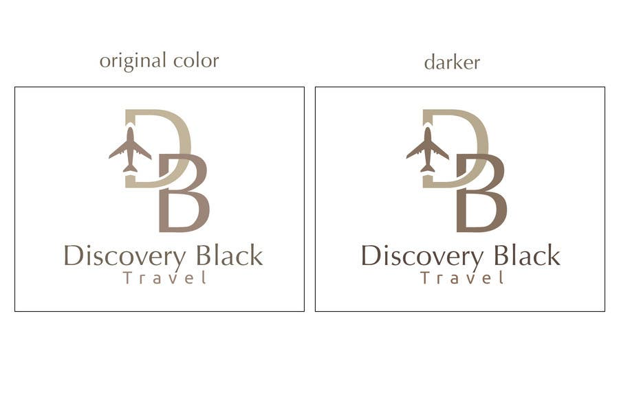 Proposition n°                                        279                                      du concours                                         Logo Design for Discovery Black Luxury Travel
