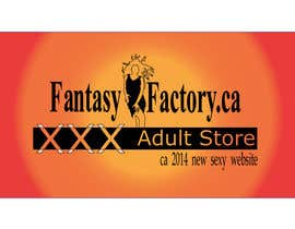 #31 para Design an updated logo for Fantasy Factory.ca Adult Store por pixelldr