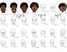 #32 para Illustrate Something for Kids Character with facial Expressions por ninoblackwhite