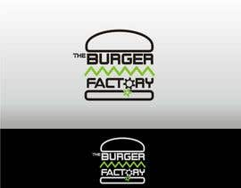 nº 10 pour Logo Design for Burger Factory par JoeMista
