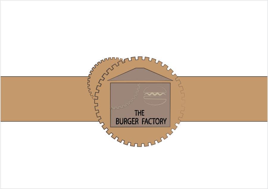 Kilpailutyö #361 kilpailussa Logo Design for Burger Factory