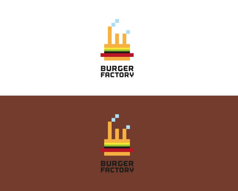 #89 for Logo Design for Burger Factory by GLADHEAD