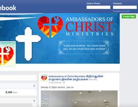 #7 for Design a Facebook landing page  church by Webicules