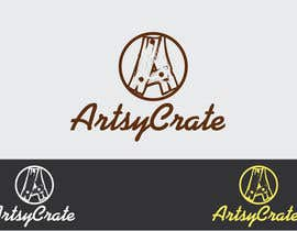 #70 for Design a Logo for ArtsyCrate af jhonlenong