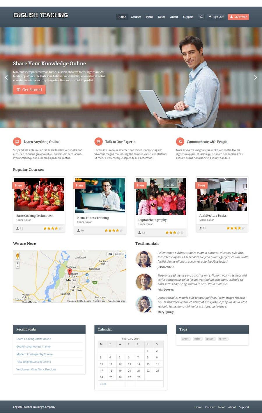 #22 for 10 Page Wordpress Website for an English Teacher Training Company by umerkakar