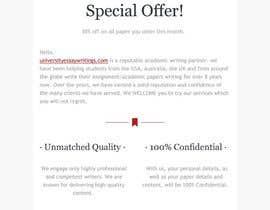 #8 for Design a marketing Email! by vladhoria