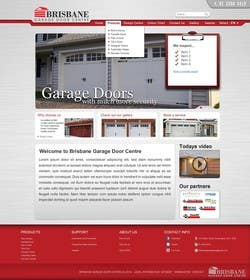#7 for *****Design variation of existing website by SirSharky
