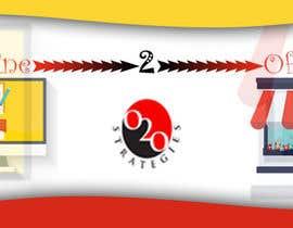 kulperera tarafından Design a Facebook Banner for: Online2Offline Strategies için no 14
