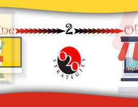 Nro 14 kilpailuun Design a Facebook Banner for: Online2Offline Strategies käyttäjältä kulperera