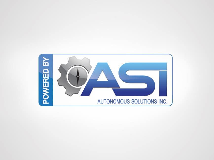 Konkurrenceindlæg #                                        77                                      for                                         Sticker/Badge design for Robotics Company (ASI)