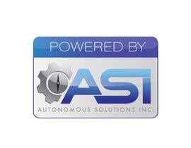 #74 para Sticker/Badge design for Robotics Company (ASI) por AkronDJ