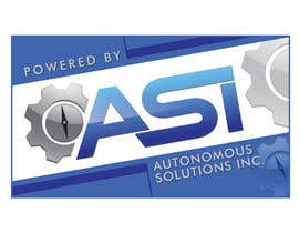 #72 for Sticker/Badge design for Robotics Company (ASI) af corpuzmanolito