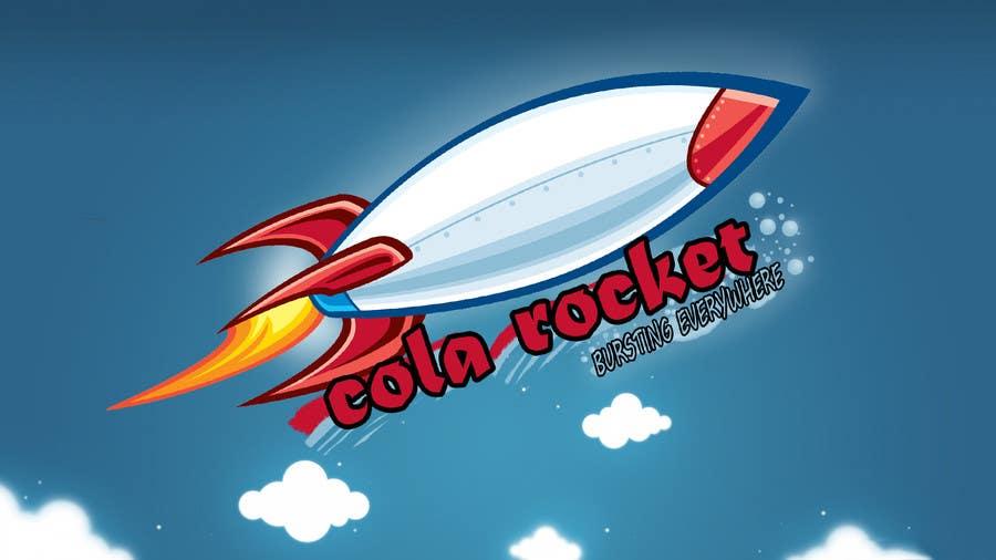 Penyertaan Peraduan #                                        27                                      untuk                                         Design a Logo for Cola Rocket