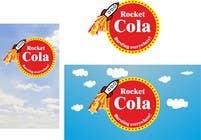 Graphic Design Entri Peraduan #15 for Design a Logo for Cola Rocket