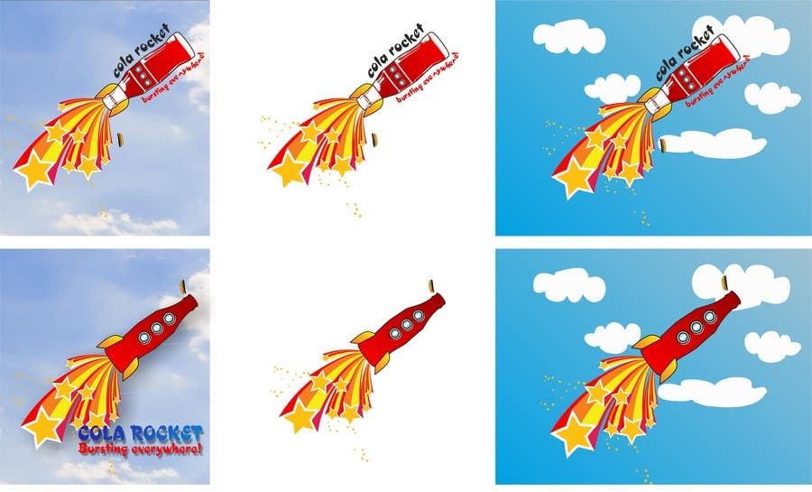 Penyertaan Peraduan #                                        33                                      untuk                                         Design a Logo for Cola Rocket