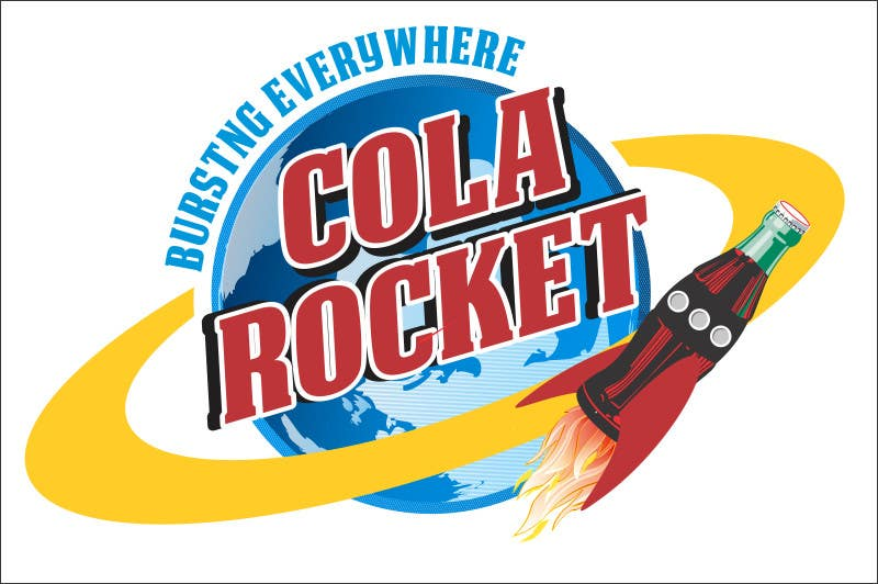 Penyertaan Peraduan #                                        40                                      untuk                                         Design a Logo for Cola Rocket