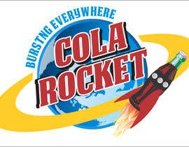 #40 para Design a Logo for Cola Rocket por obrejaiulian