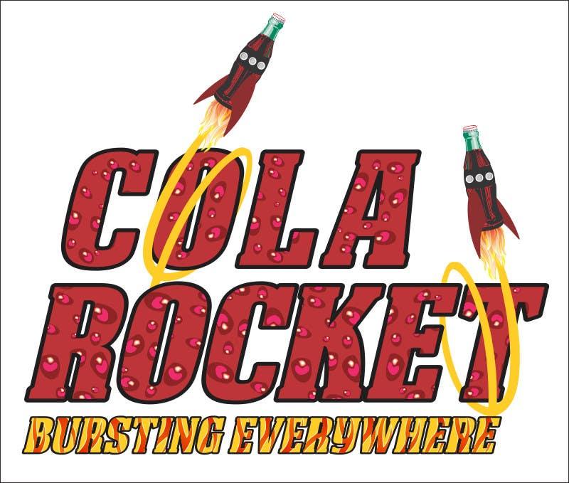 Penyertaan Peraduan #                                        48                                      untuk                                         Design a Logo for Cola Rocket