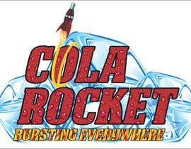 #53 para Design a Logo for Cola Rocket por obrejaiulian