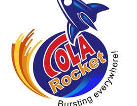 #49 para Design a Logo for Cola Rocket por duttarajesh07