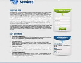 #43 for Wordpress Theme Design for RepShield.org by tania06