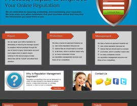 #24 untuk Wordpress Theme Design for RepShield.org oleh tobacamp